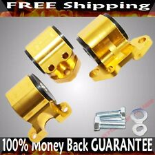 GOLD Engine Motor MountKit fit 92-95 Honda Civic EG 93-97 Integra 3Bolt Mount