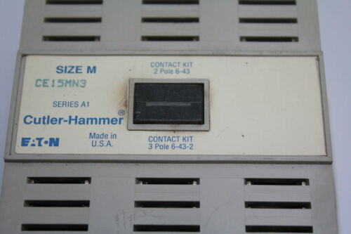 Cutler-Hammer CE15MN3 Contactor Used