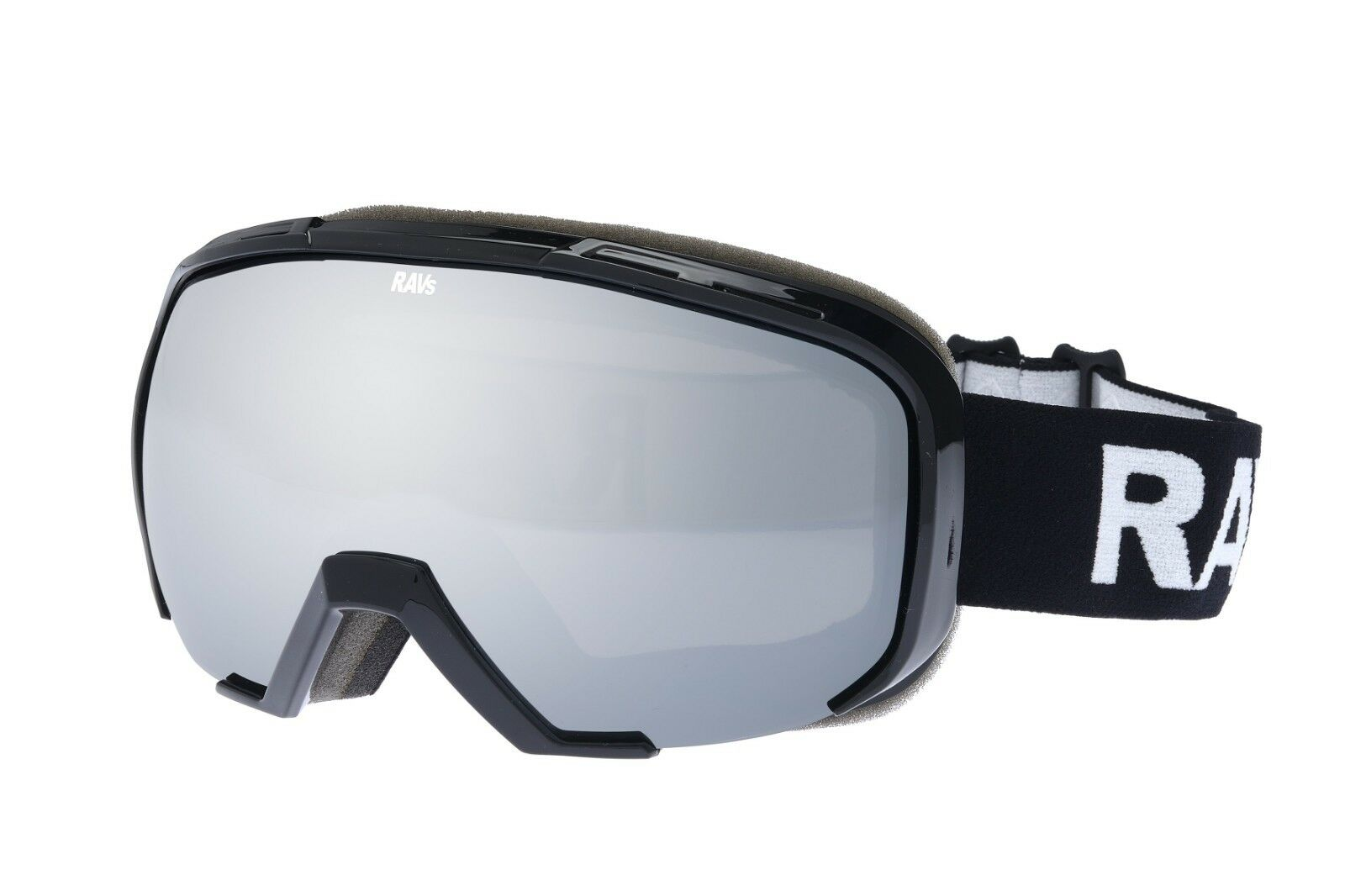 Ravs Spectacle Wearers Snowboard Goggles Ski Helmet-Compatible Extra Contrast