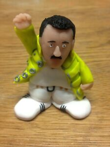 "2.5"" Queen Freddie Mercury Custom Figure Figurine Yellow ..."