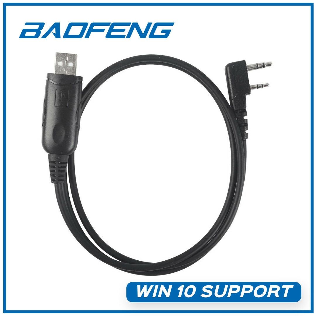 Details about Win10 Programming Cable For Baofeng TYT Wouxun K Radio  Transceiver US Shipping