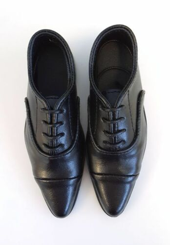 Black Oxford Shoes for Fashion Dolls and BJDs