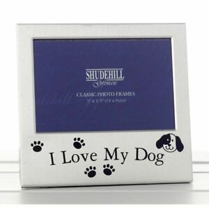 "5"" x 3"" I love My Dog Photo Frame, Occasion Present 73497"