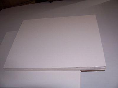 Pack of 100 BCW 11 x 17 Acid Free Art Print Backing Boards 11x17 white backer