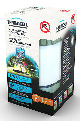 Silva Thermacell Scout camping farol 1 St. projoección contra insectos mosquitos mosquitos