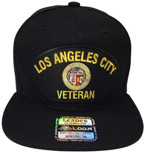 City of Los Angeles Veteran Black Snapback