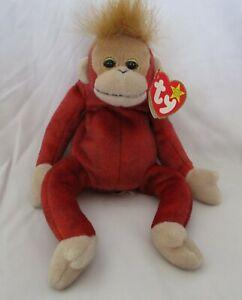 Image is loading Ty-Beanie-Baby-Schweetheart-the-Orangutang-USED 464e54ac9b