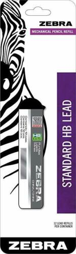 HB Choose Size 0.5mm or 0.9mm Carded Pack of 1 Tube Zebra Lead Refill