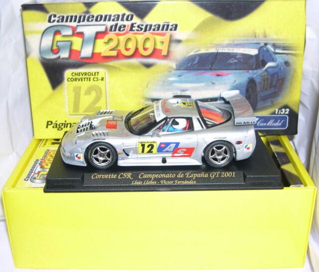 1//32 SCALE SLOT CAR FLY CHEVROLET CORVETTE C5-R CAMPEONATO DE ESPANA GT 2001