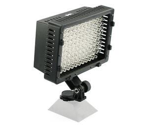 Pro LED video light for Canon GL1 GL2 XL1 XL1S XL2 A1 XH-A1s mini dv camcorder