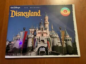 Rare 1993 Walt Disney Disneyland The Original Pictorial Souvenir Book Ebay