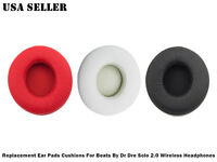 Replacement Ear Pads For Beats By Dr Dre Solo 2.0 & 3.0 Wireless Headphones