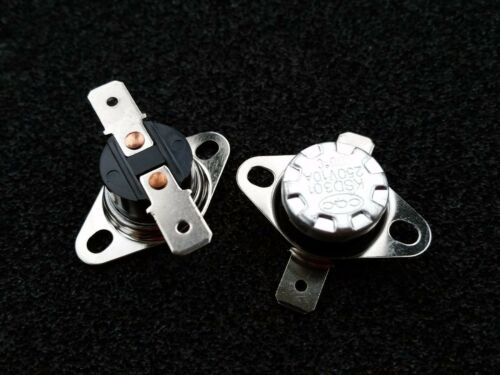 5pcs Temperature Switch Thermostat KSD301 KSD302 110°C 230℉ NO