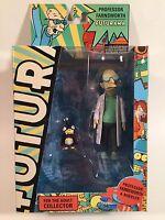 2012 Toynami Futurama Professor Farnsworth & Nibbler 6 Inch Figure Complete Rare