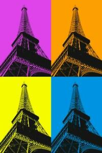 Eiffel-Tower-Pop-Art-Print-Poster-24x36-inch