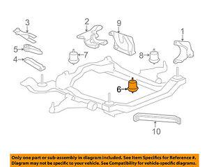 gm oem engine motor mount torque strut 25840452 ebay rh ebay com
