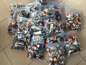 10-KG-x8500pcs-LEGO-CREATIVITY-PACKS-BULK-LOT-FREE-x-30-figures-amp-x100-items