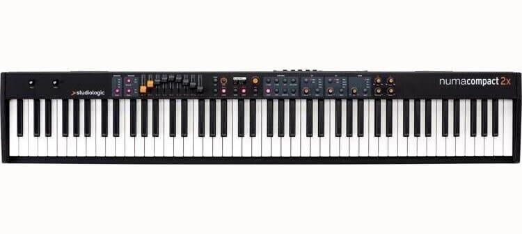 Andet, Studiologic Numa Compact 2X stage piano
