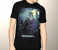 Iron Maiden Shirt, Hallowed Be Thy Name, Premium Graphic T-Shirt S-5XL BAND
