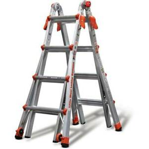 Little Giant Ladder Systems 17 Foot Type IA Aluminum Multi Position Ladder(Used)