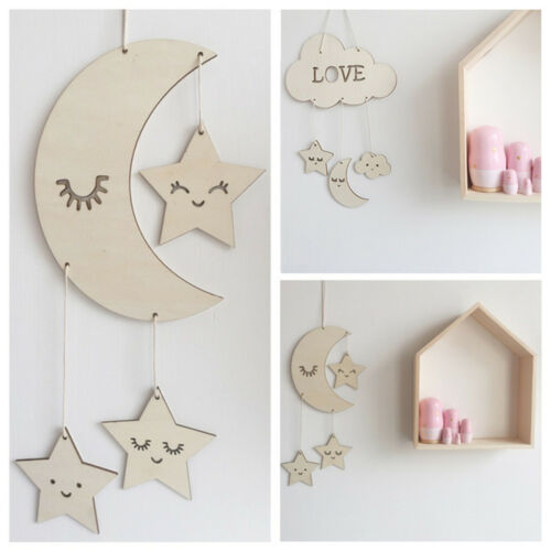 Photography Props Baby Room Decoration Wooden Wall Hanging Home Ornaments