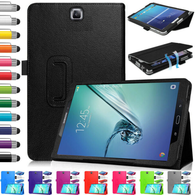 separation shoes b0018 f5648 Leather Magnetic Flip Stand Case Cover For Samsung Galaxy Tab S2 9.7