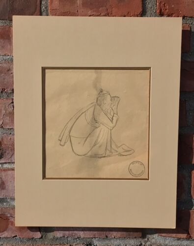 C1920 Original Maurice Sterne Drawing Of Reclining Balinese Girl. Estate Stamped