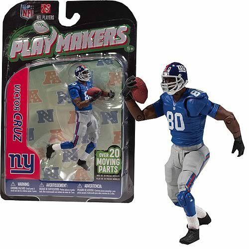 NFL Playmakers Series 3 Victor Cruz Cruz Cruz Giants 4in Action Figure McFarlane Toys 95c6ff