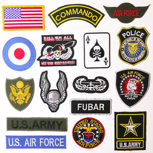 US-MILITARY-PATCH-SHOP-Any-Patch-1-95-Embroidered-Iron-On-UK-Free-Post