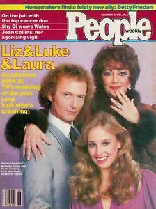 PEOPLE-Magazine-NOV-16-1981-LIZ-TAYLOR-TONY-GEARY-GENIE-FRANCIS