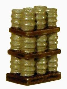 Harburn Hamlet FL170 Terracotta Pipes on Pallets 62 x29x18mm /'00/' Gauge 1st Post