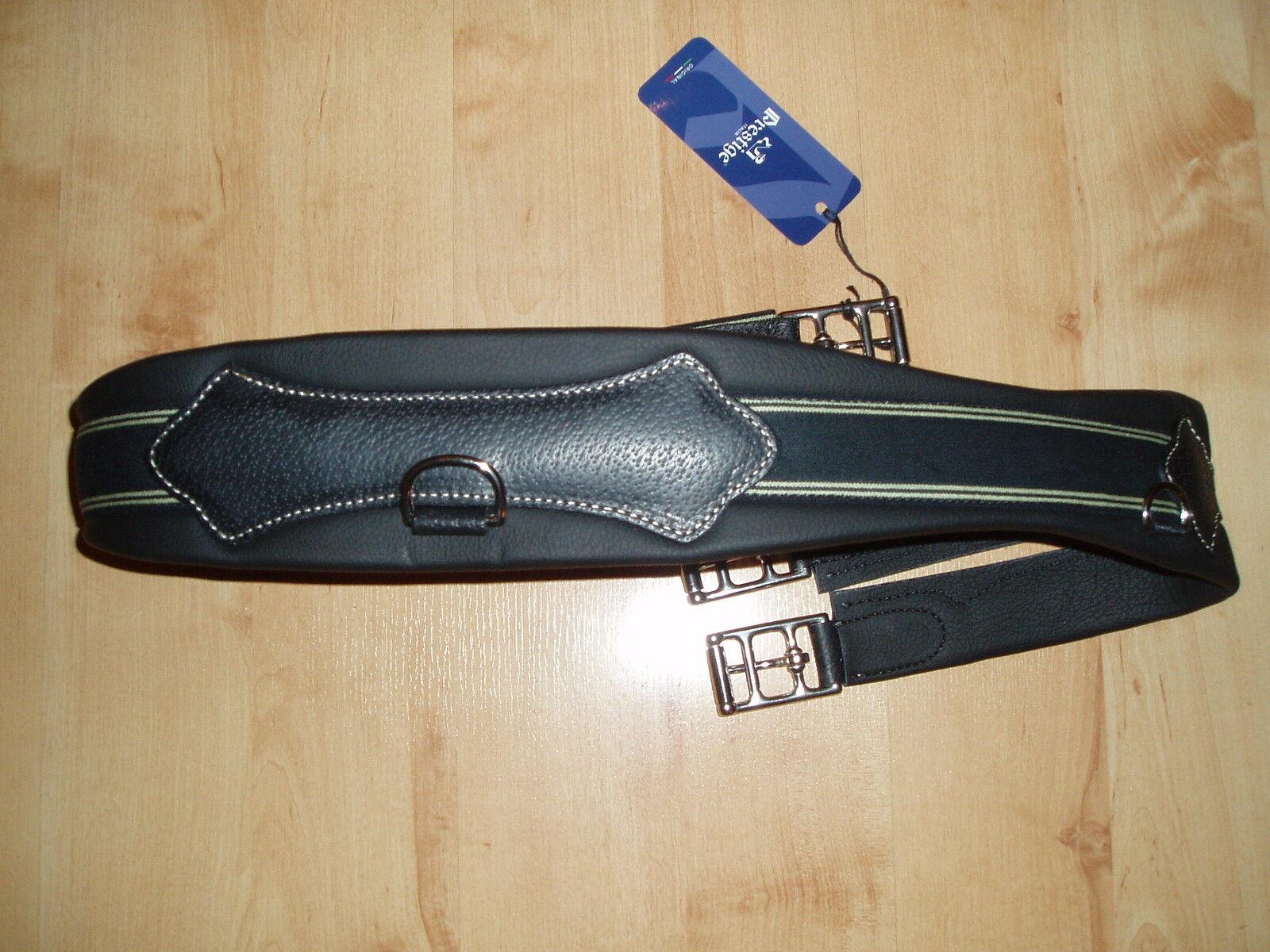 Prestige SELLA Cintura, Cuoio, lunghezza 115cm, NERO, NUOVO