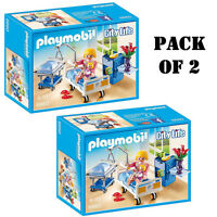 Pack Of (2) Playmobil 6660 Maternity Room Playset Ages 4-10 on sale