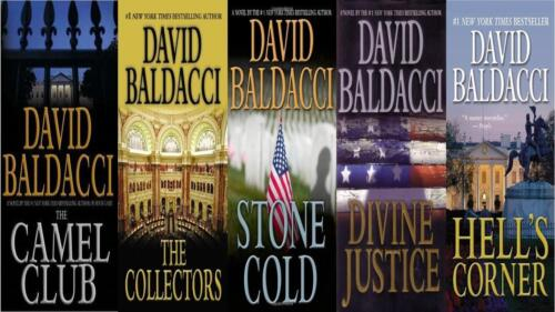 Lot 3 John Puller Series books by David Baldacci 044657306X; 044657306X; 978145