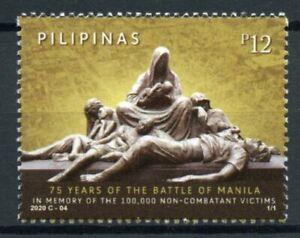 Filippine-Militare-amp-GUERRA-FRANCOBOLLI-2020-Gomma-integra-non-linguellato-SECONDA-GUERRA-MONDIALE