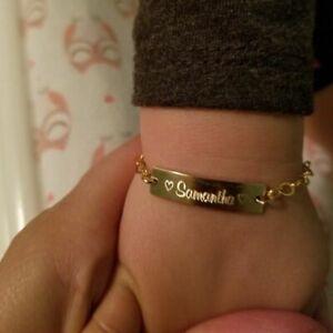 Baby-Kids-Custom-Made-Toddler-Child-ID-Engraved-Bracelet-Girl-Boy-Name-Date-Bar