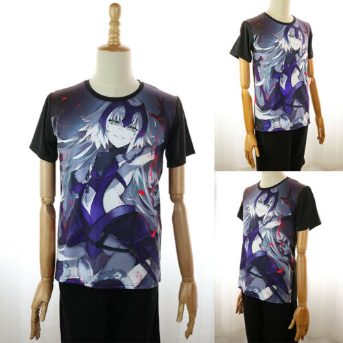 Anime TouHou Project Black Casual T-shirt Unisex Short Sleeve Tops Tee #J45G