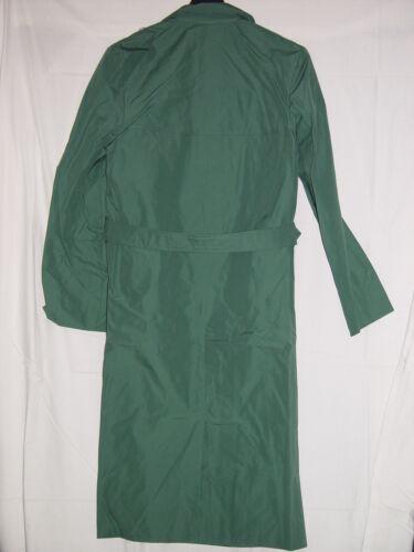 ungetragen Größe m56 Trenchcoat Regenmantel Volkspolizei Wettermantel grün