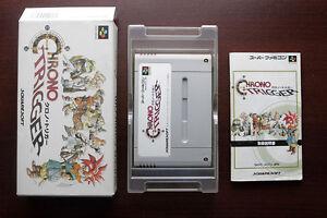 Super-Famicom-SFC-Chrono-Trigger-boxed-Japan-SNES-game-US-Seller