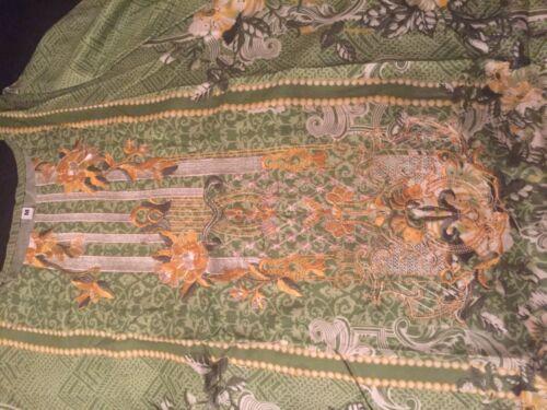 Cousu Brodé Designer Costume en lin comme Sapphire