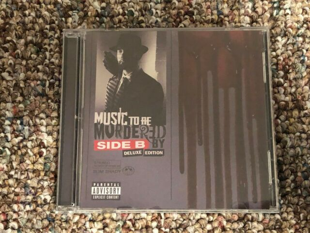 EMINEM - MUSIC TO BE MURDERED BY: SIDE B [2CD DELUXE](2021) -Like New EXPLICIT