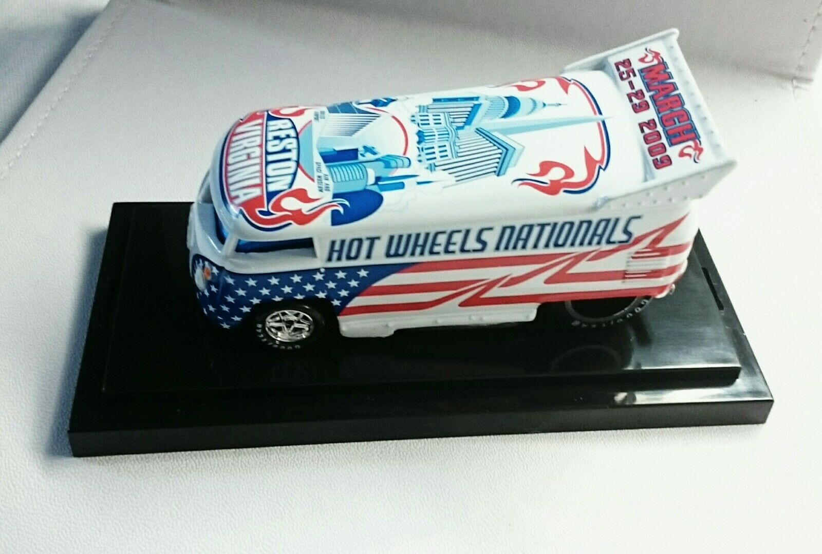 VW DRAG BUS HOT WHEELS 9TH NATIONAL RESTON VIRGINIA 1187 1300 VOLKSWAGEN DIECAST