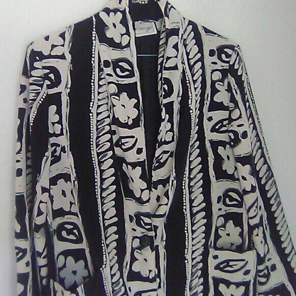 Entourage women's light blazer jacket shirt jacke… - image 10