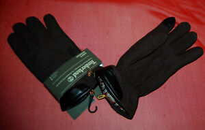 NWT TIMBERLAND mens Touch Screen Technology Mole dk Brown Leather gloves XL
