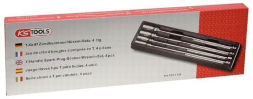KS TOOLS 517.1130 T-Griff Zündkerzenschlüssel Satz 14-21 mm 4 tlg.