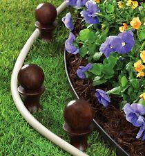 (3) Ea Liberty Garden # 616 Globe Top Garden Hose Protective Hose Guides