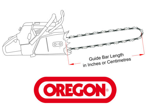 "Micro Chisel Oregon 16/"" Chainsaw Bar /& Chain for Husqvarna 346 357 359 455 560"