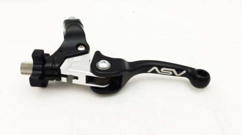 ASV F3 Unbreakable Shorty Black Brake Clutch Levers Pair Pack YZ 85 125 250 426F