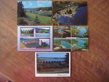 Lot de 5 cartes de BUTGENBACH (notamment une carte avec le camping caravanes )
