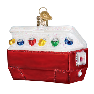 034-Ice-Chest-034-32335-X-Old-World-Christmas-Glass-Ornament-w-OWC-Box